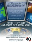 Retreat for Youth and Adults with Special Needs, East Coast/Mid-Atlantic, held by Virginia Baptists at Eagle Eyrie
